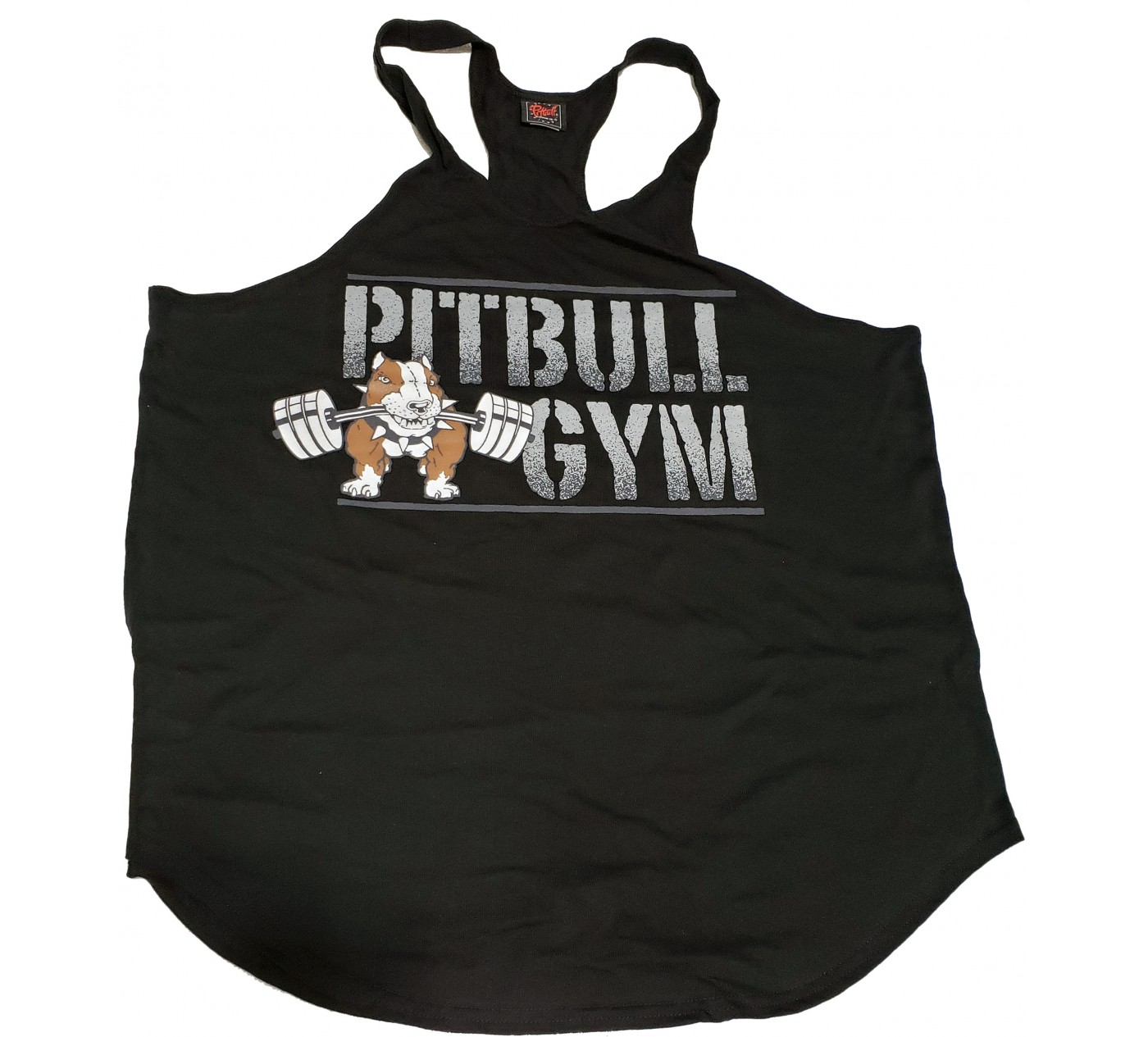 BLOWOUT SALE P-309 Pitbull Gym String Tank Top BARBELLS LOGO