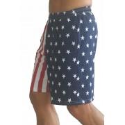 F600 Flag шорты в американский флаг короткий корпус