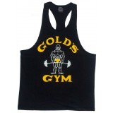 G310 Golds Gym Racerback Tank Top Joe Logo