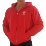 G860 Golds Gym Bodybuilder Hoodie with Zipper - Old Joe Logo