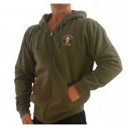 Zip Hoodie Spor Sweatshirt