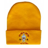 G9351 Beanie Cap Golds Gym Embroidered Old Joe logo