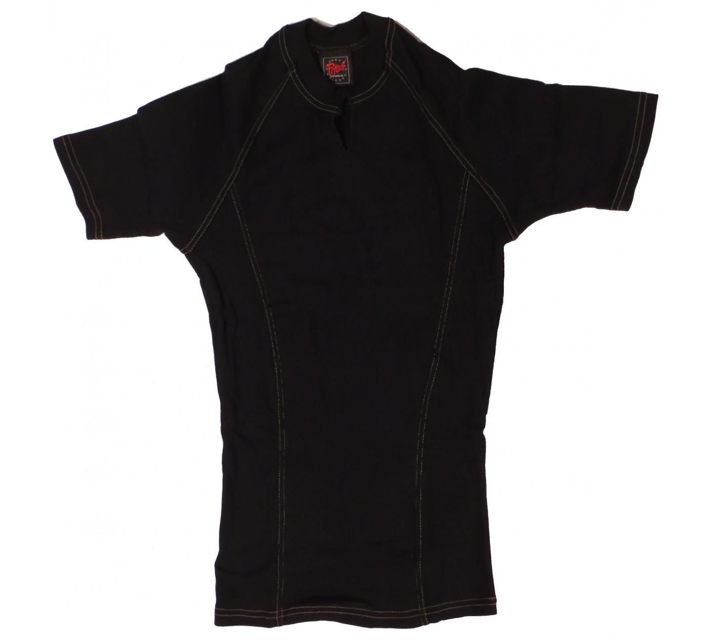 P123 Pitbull Gym shirt Urban côtelé T