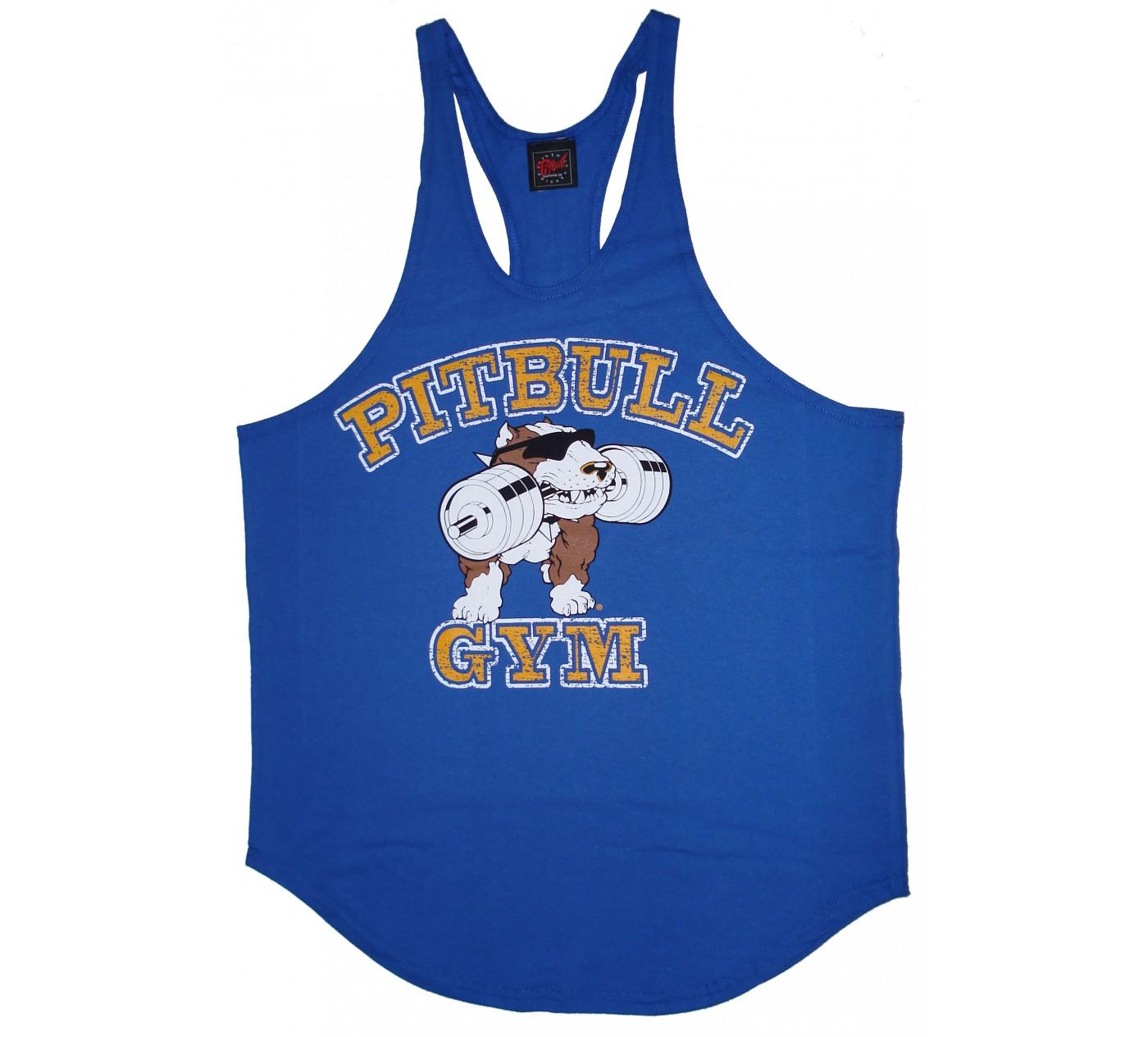 P312 Pitbull Gym streng tank top stein logo