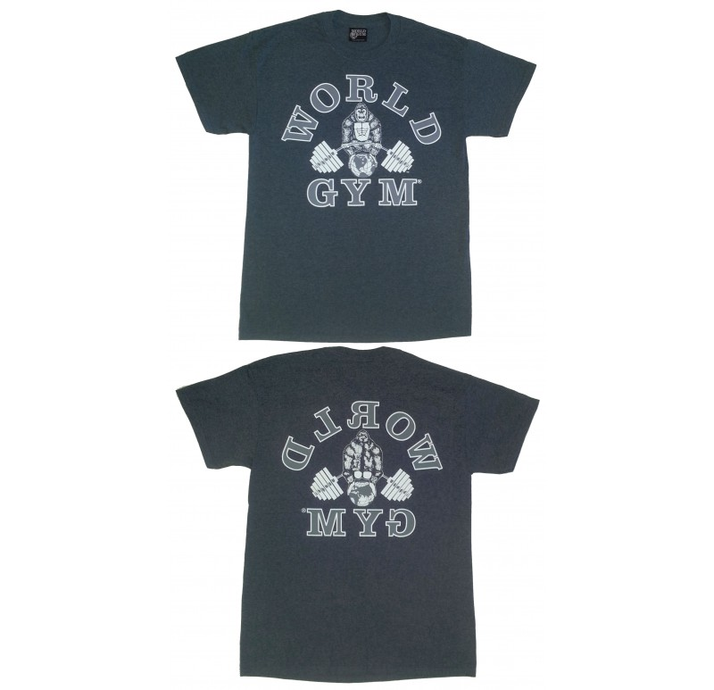 World Gym Shirt Retro Gorilla logo