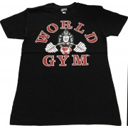 W110 World Gym Muscle Shirt camiseta de la quemadura