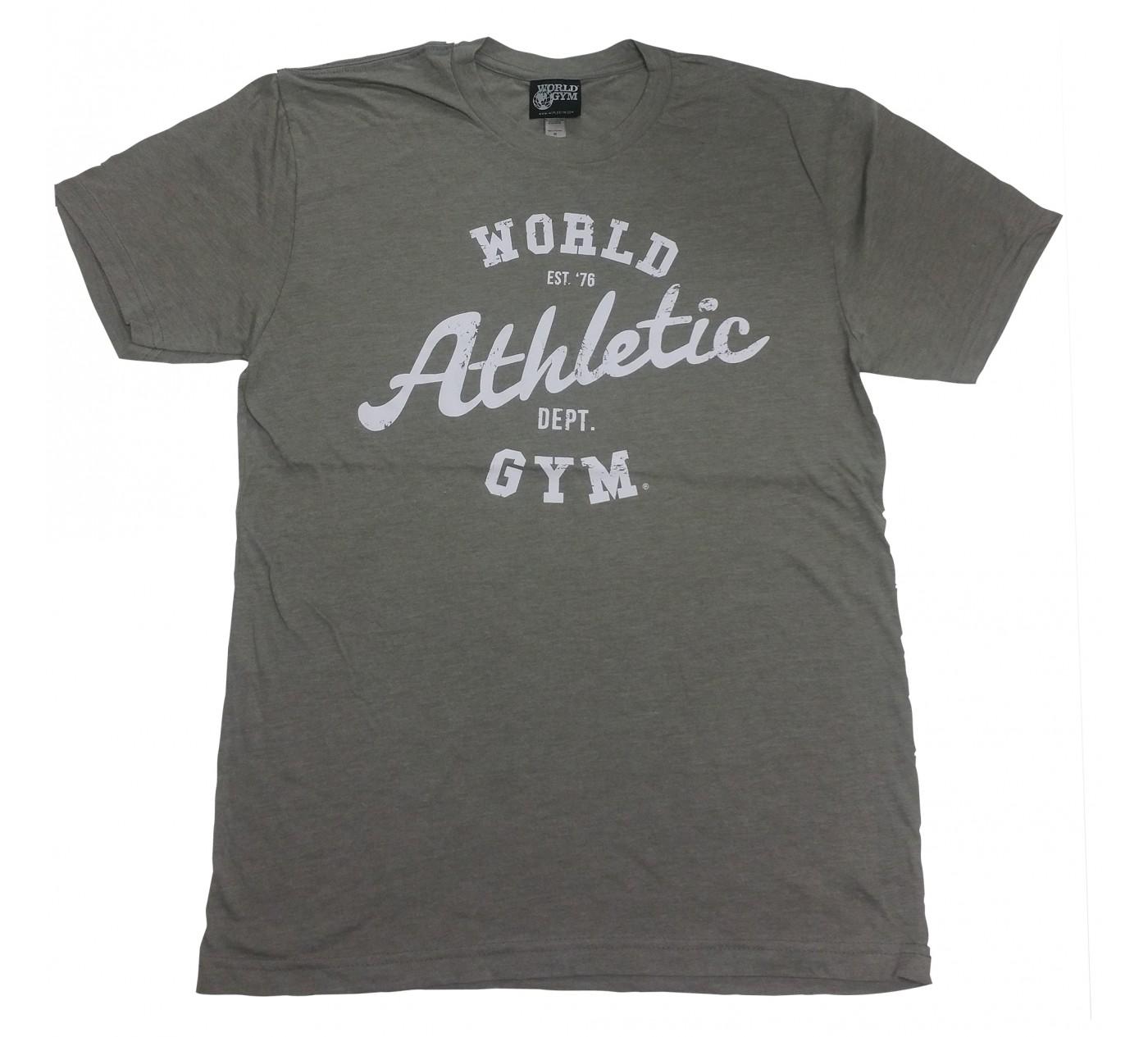 W110 World Gym Muscle Shirt Burnout Tee