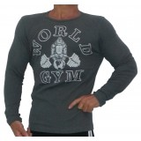 W171 World Gym Muscle Shirt Long Sleeve Thermal