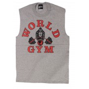 W190 World Gym camiseta sin mangas sin mangas