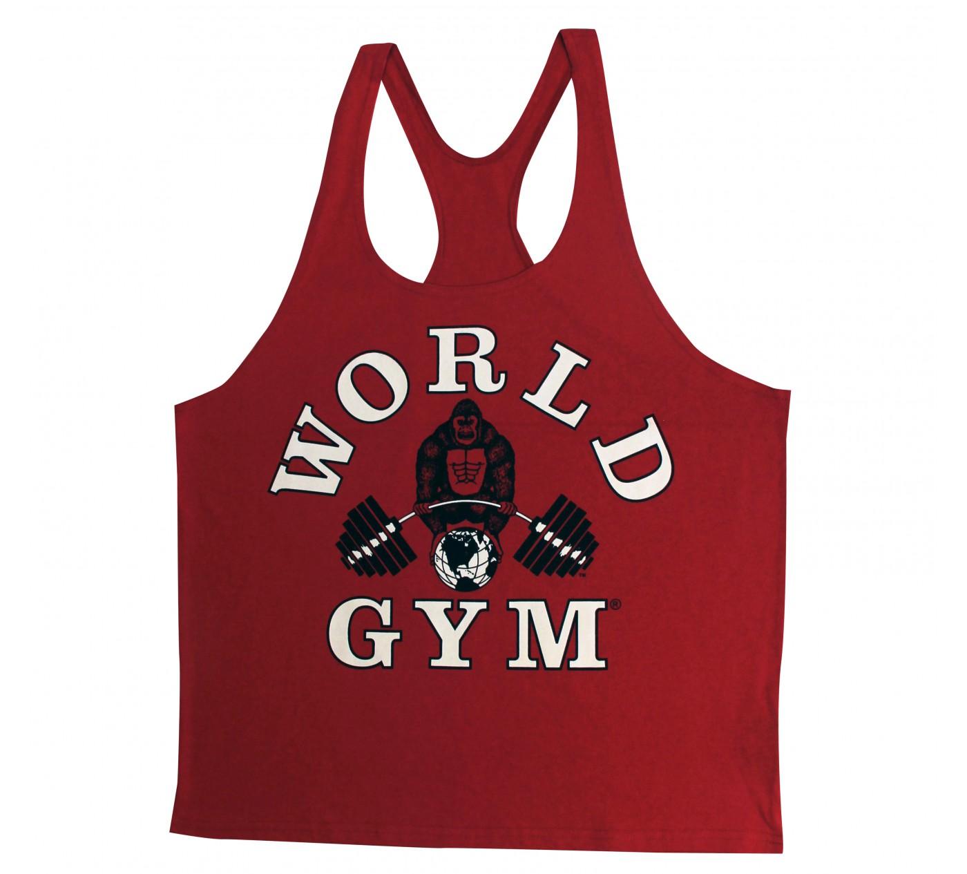 W300 World Gym stringer linne
