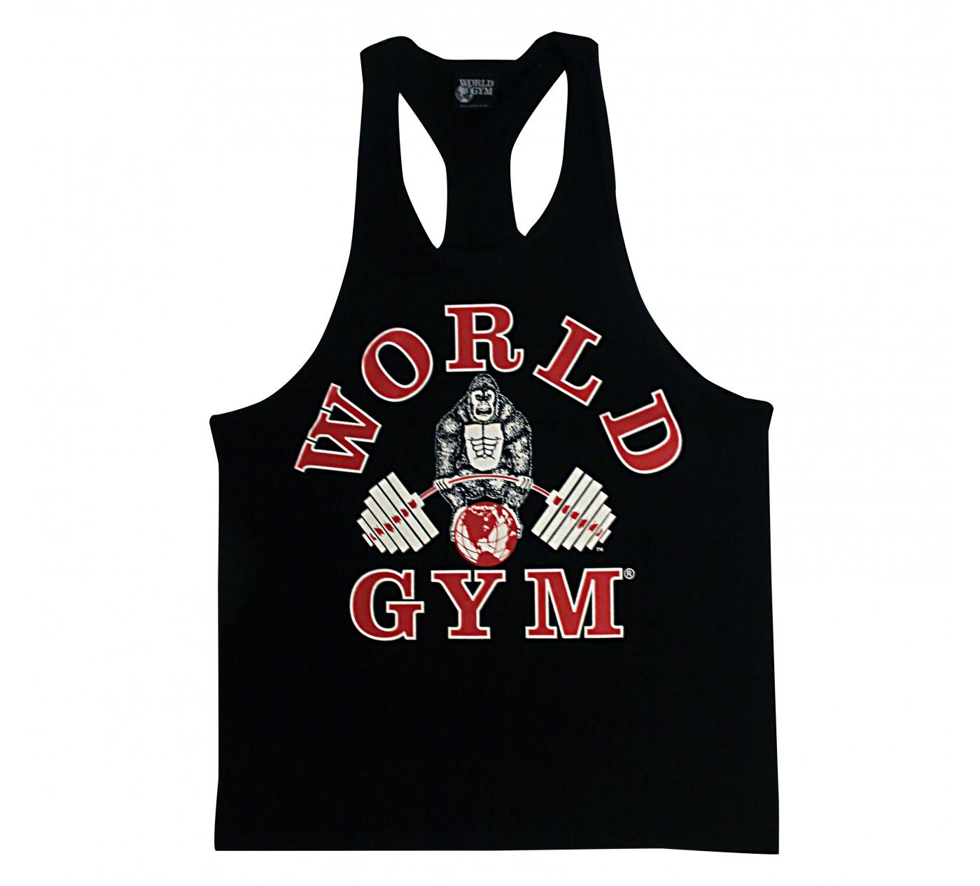 W310 World Gym tanque treino top racerback