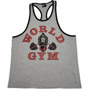 World Gym Workout Tank Top Ringer Racerback