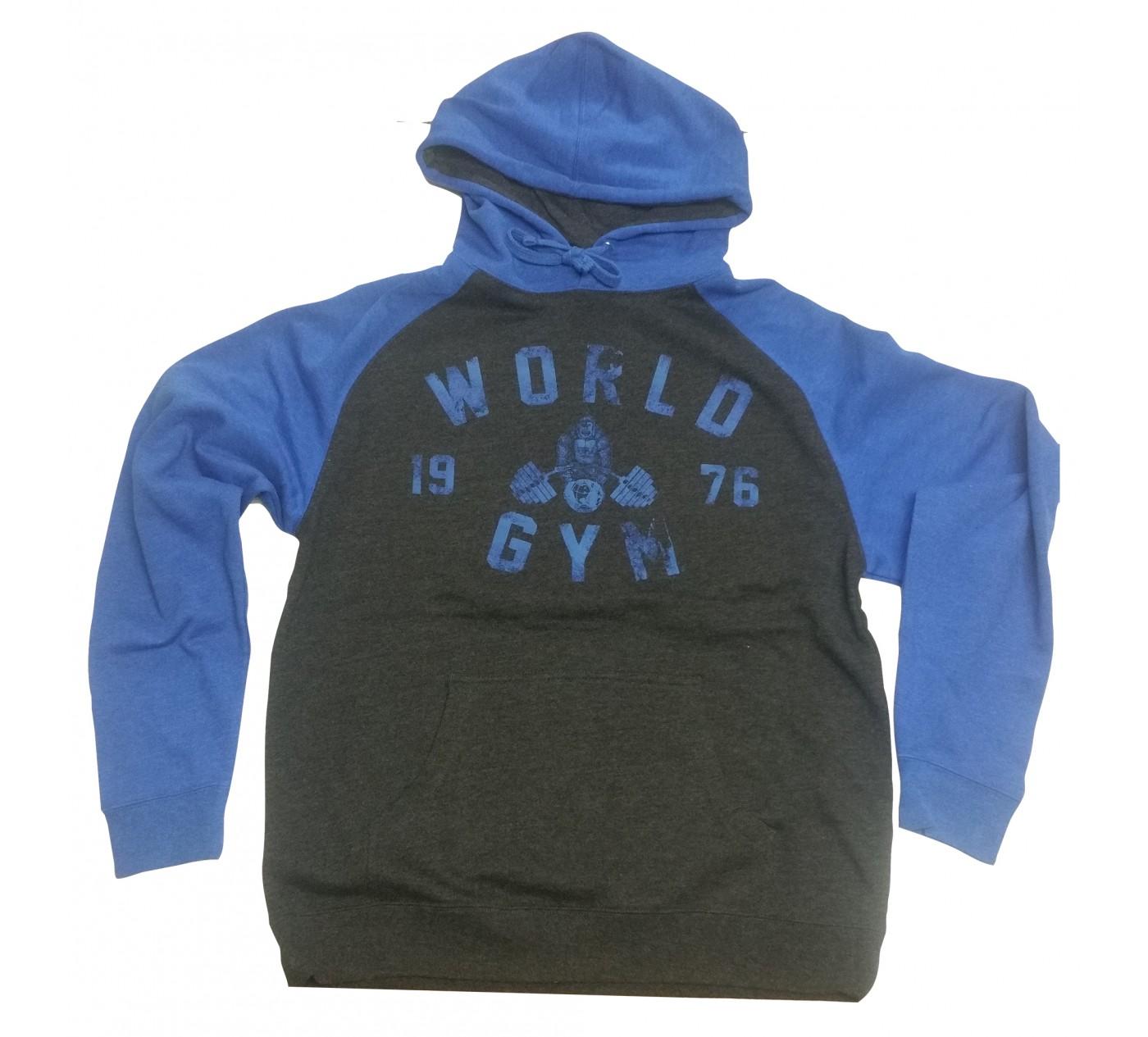 W850 világ tornaterem kapucnis izom gorilla logo