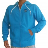 Zip Muscle Hoodie World gym logo - W860