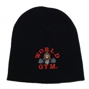 World Gym Logo Beanie skull cap