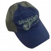 World Gym Logo Trucker Cap